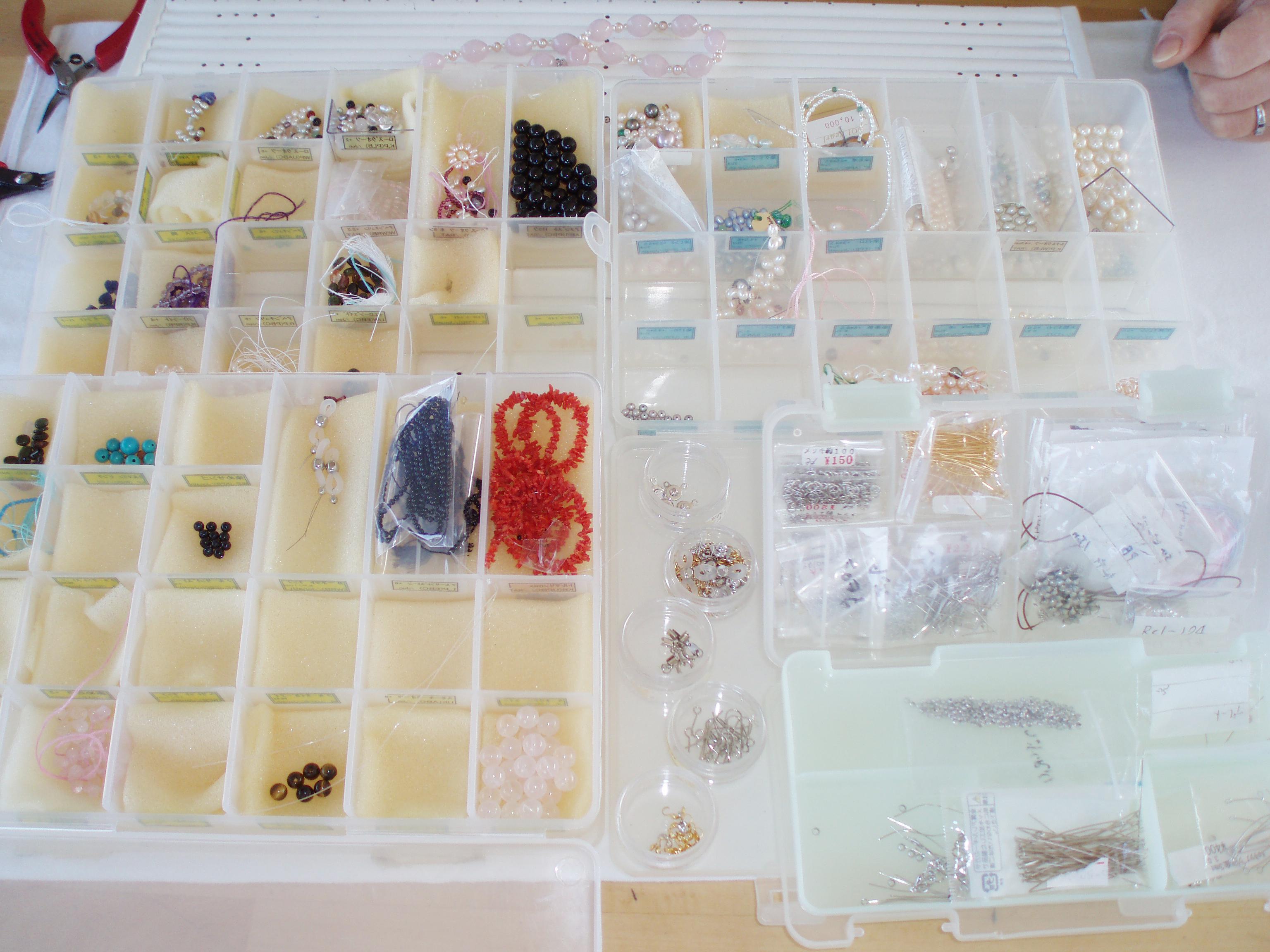 真珠でオリジナルアクセサリー作り