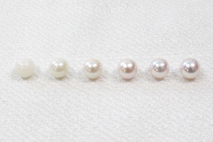 真珠層の巻き厚