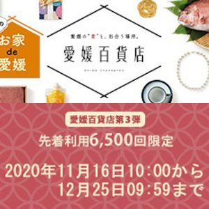 (JP) 楽天市場「愛媛百貨店」20%OFFクーポンキャンペーン @ 楽天市場